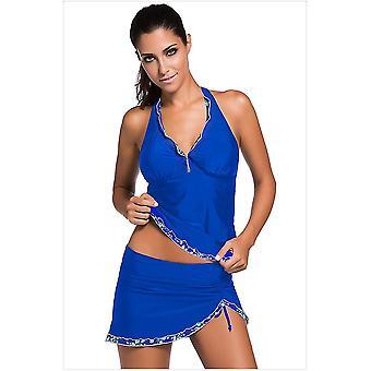 M kék fürdőruhák nőknek kétrészes fürdőruhák bikini alsó x4982