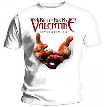 BFMV Temper Temper Blood Hands T Shirt: Large