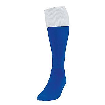 Presné Royal / White Obrat Futbalové ponožky Veľká Británia Veľkosť 3-6
