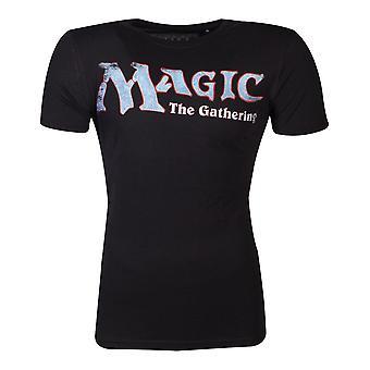 Hasbro Magic - The Gathering Logo Male Small T-Shirt (Noir)