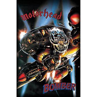 Motorhead - Poster tessile bomber