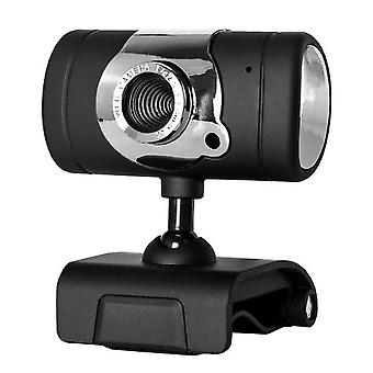 מצלמת אינטרנט HD עם מחשב מיקרופון, מצלמת אינטרנט USB, הקלטת וידאו, בחדות גבוהה עם