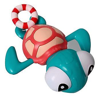 1%漫画ウミガメ風呂おもちゃラブリー動物の時計仕掛け入浴おもちゃ面白い動物の水遊びおもちゃ創造的なプラスチックベビーバスおもちゃホームベビープレイイン