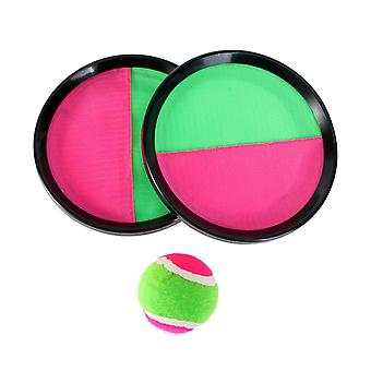 Paddel Tennis Spielzeug Ball werfen und fangen Sport Ball werfen Fangen Fledermaus Ball Spiel Set