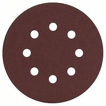 Bosch Accessories 2607019494 Router sandpaper Hook-and-loop-backed, Punched Grit size 120 (Ø) 125 mm 25 pc(s)