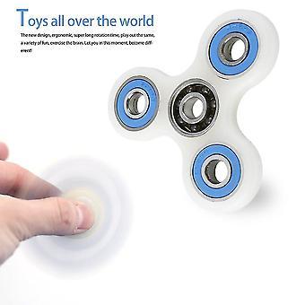 Full Set Fingertip Spiral Hand Spinner Finger Luminous Attractive Shell