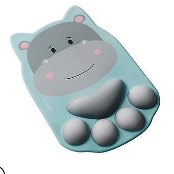 Cat Claw Mouse Pad náramok Nadsemený roztomilý kreslený myš Mat