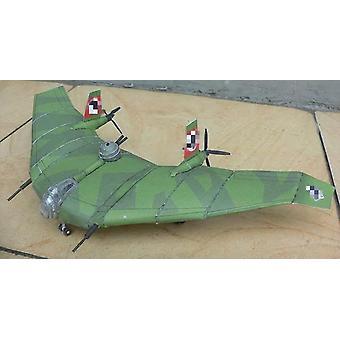 Lentävä siipi 3D paperi malli lelu