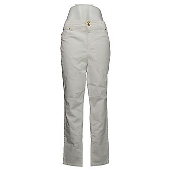 Global Chic By Iman Women's Petite Jeans 360 Slim Skinny White 685778UCU