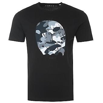 Forty Benjamin Organic Cotton T-Shirt - Black