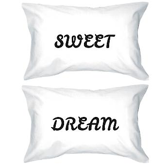 Bold Statement Pillowcases 300-Thread-Count Standard Size 20 x 31 - Sweet Dream