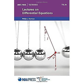 Lectures on Differential Equations (AMS/MAA Textbooks)