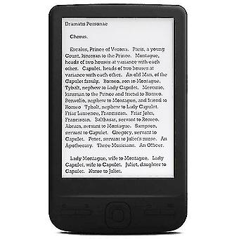 E-book readers 4.3 Inch e-ink ebook reader 800x600 ereader electronic paper book with front light pu cover 8g