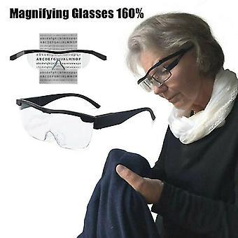 Freihändige Lupe Lupe 160% mit LED zum Lesen Nähen