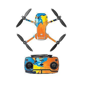 PVC Aufkleber mavic mini Drohne Abziehbilder Controller HautAufkleber Set für dji mavic mini Zubehör (E)