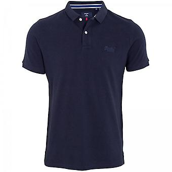 Superdry Classic Pique Polo Eclipse Navy
