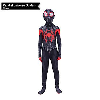 Children's Male Cos Spiderman Tight-fitting One-piece Dress Up Suit Superman Performance Suit