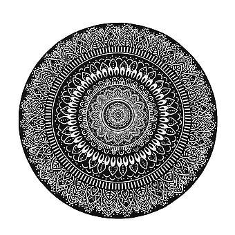 Mandala Blume Runde Teppich Teppich