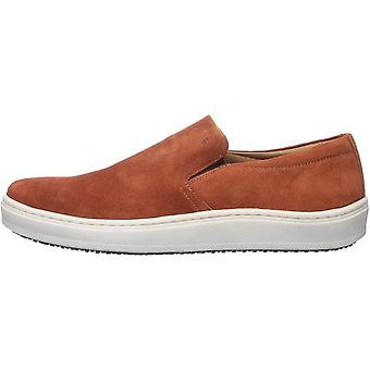 Brothers United Mens Leather Luxury Slip on Venetian Sneaker