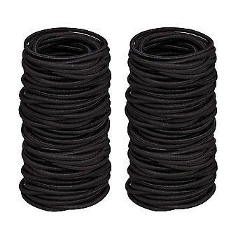 Hair Ties,elastic Hair Bobbles Ponytail Holders No Metal Gentle,100pcs