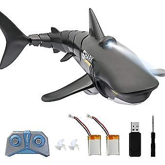 Qian twee batterijen, 2.4g afstandsbediening shark toy