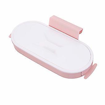 Kök Hushåll Väggmonterad Soppåse Förvaringsställ (rosa)