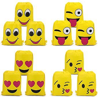 Emoji Bags Supplies 12pack
