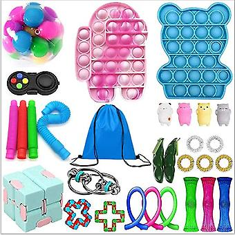 Sensory Decompression Toy Set Puzzle Diy Combination Toys -10