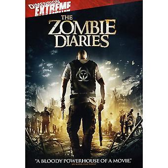 Zombie Diaries [DVD] USA import