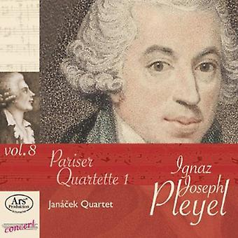 Pleyel / Janacek Quartet - Pariser Quartette 1 [CD] USA import