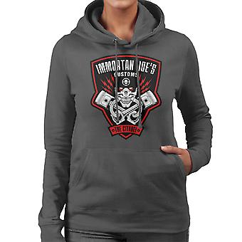 Immortan Joes Customs Mad Max Fury Road Women's Hooded Sweatshirt