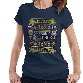 Banjo Kazooie Christmas Knit Women's T-Shirt