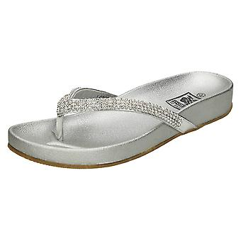 Ladies Down to Earth Toe Post Summer Sandals F0876
