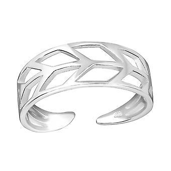 Arrow - 925 Sterling Silver Plain Rings - W35676X