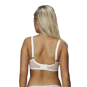 Nessa B2 Women's Mamma Rose Pink Solid Colour Embroidered Non-Padded Underwired Nursing Maternity Bra