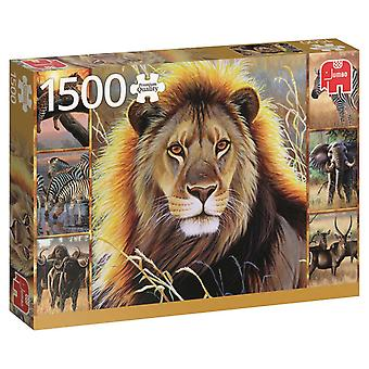 Jumbo African Beauty Premium Jigsaw Puzzle (1500 Pieces)