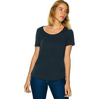 American Apparel das mulheres/senhoras ultra lavar 100% algodão t-shirt