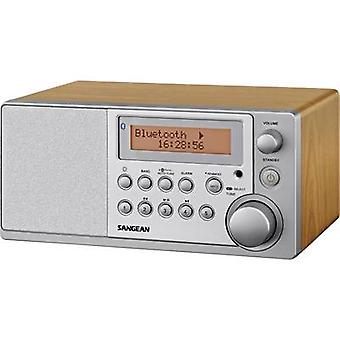 Sangean DDR-31 BT bureau radio DAB +, FM Bluetooth, AUX hout
