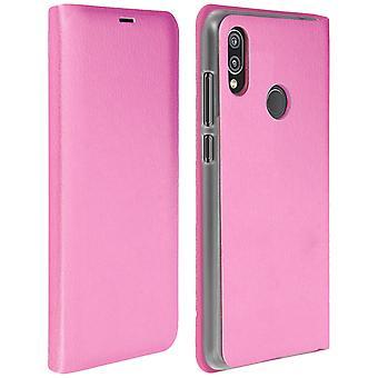 Vend bokomslag, lommebok tilfelle med stativ for Huawei P20 Lite - rosa