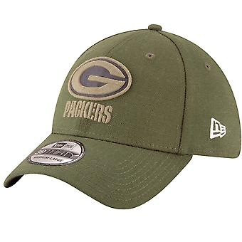 New era 39Thirty Cap - salute to service Green Bay Packers