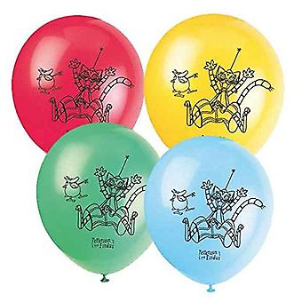 Pettson and Findus party original air balloons 8 pieces 25 cm birthday decoration