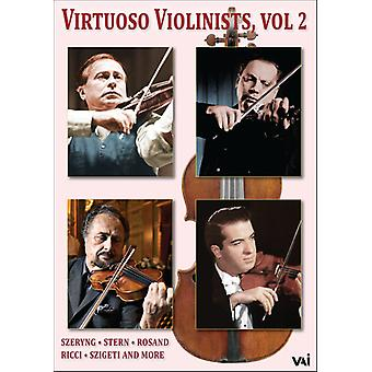 Virtuoso Violinists 2 [DVD] USA import