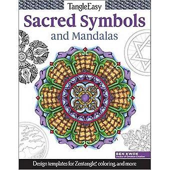 Symboles Tangleeasy Sacres et Mandalas - des modèles de conception pour Zentangl