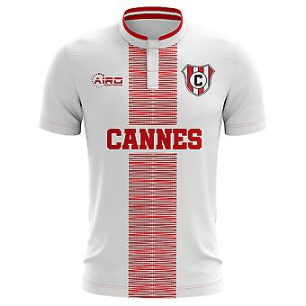 2020-2021 Cannes Home Concept Football Shirt