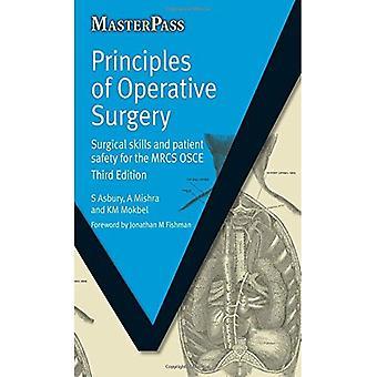 Prinsipper for operativt kirurgi: Viva praksis for MRCS (Masterpass)