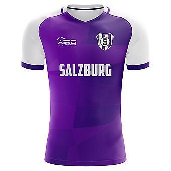 2020-2021 Austria Salzburg Home Concept Football Shirt - Kids