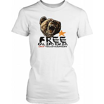 California - Stop große staatliche Damen T Shirt gratis