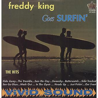 Freddy King - Goes Surfin' [Vinyl] USA import