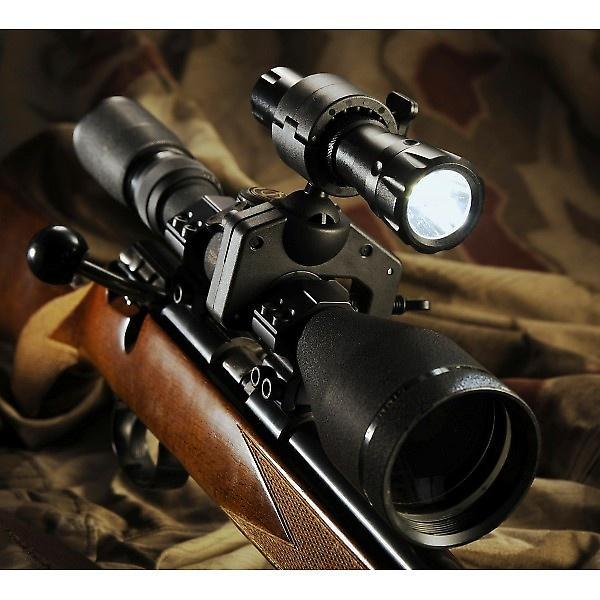 Clulite MG125 Super Helle wiederaufladbare LED Pistole Licht