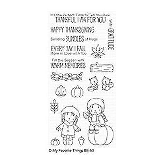 My Favorite Things Frightfully Sweet Clear Stamps (BB-62)